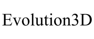 EVOLUTION3D trademark