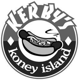 KERBY'S KONEY ISLAND trademark