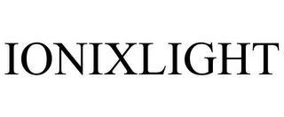 IONIXLIGHT trademark