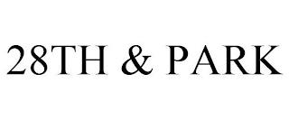 28TH & PARK trademark