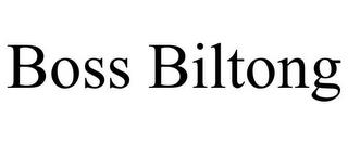 BOSS BILTONG trademark