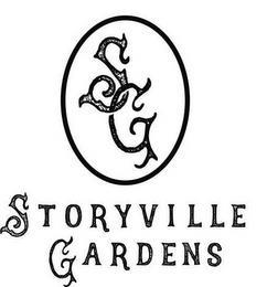 SG STORYVILLE GARDENS trademark