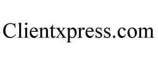 CLIENTXPRESS.COM trademark