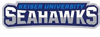 KEISER UNIVERSITY SEAHAWKS trademark