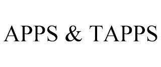 APPS & TAPPS trademark