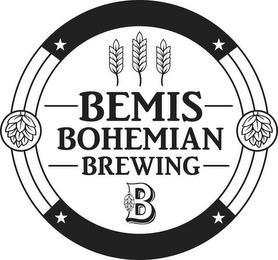 BEMIS BOHEMIAN BREWING B trademark