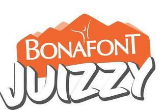 BONAFONT JUIZZY trademark