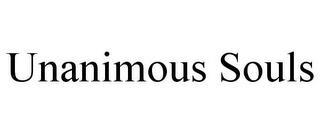 UNANIMOUS SOULS trademark