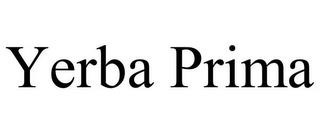 YERBA PRIMA trademark