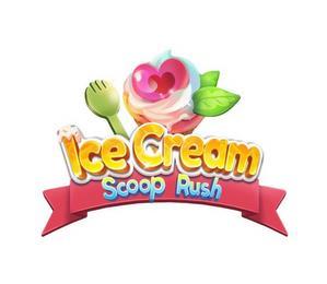 ICE CREAM SCOOP RUSH trademark