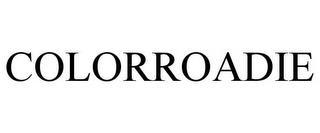 COLORROADIE trademark