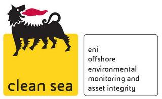 CLEAN SEA ENI OFFSHORE ENVIRONMENTAL MONITORING AND ASSET INTEGRITY trademark
