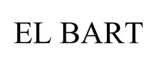 EL BART trademark