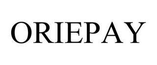 ORIEPAY trademark