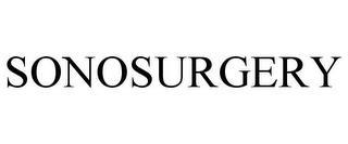 SONOSURGERY trademark