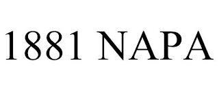 1881 NAPA trademark
