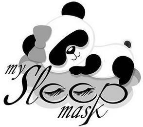 MY SLEEP MASK trademark