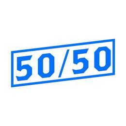 50/50 trademark