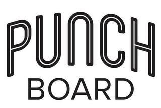 PUNCH BOARD trademark