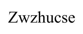ZWZHUCSE trademark