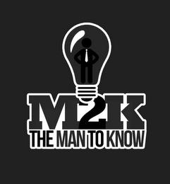 M2K THE MAN TO KNOW trademark