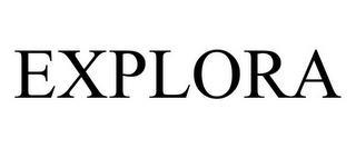 EXPLORA trademark