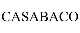CASABACO trademark