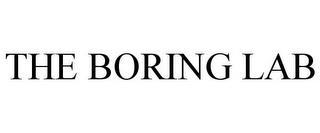 THE BORING LAB trademark