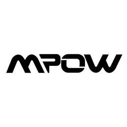 MPOW trademark
