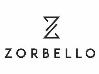ZORBELLO Z trademark