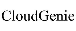 CLOUDGENIE trademark
