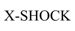 X-SHOCK trademark