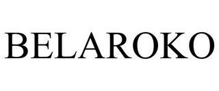 BELAROKO trademark