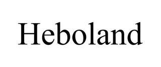 HEBOLAND trademark
