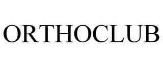 ORTHOCLUB trademark