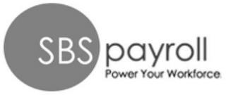 SBS PAYROLL POWER YOUR WORKFORCE trademark