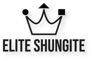 ELITE SHUNGITE trademark