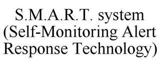 S.M.A.R.T. SYSTEM (SELF-MONITORING ALERT RESPONSE TECHNOLOGY) trademark