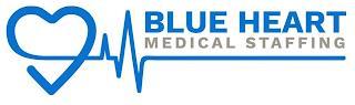 BLUE HEART MEDICAL STAFFING trademark