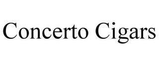 CONCERTO CIGARS trademark