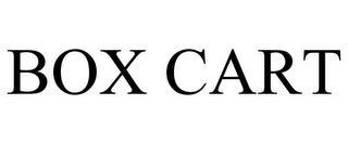 BOX CART trademark