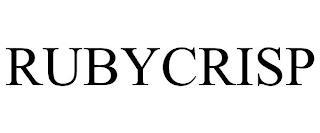RUBYCRISP trademark