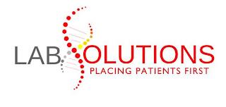 LABSOLUTIONS PLACING PATIENTS FIRST trademark