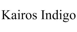 KAIROS INDIGO trademark