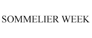 SOMMELIER WEEK trademark