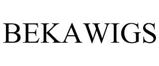BEKAWIGS trademark