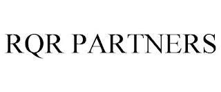 RQR PARTNERS trademark