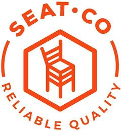 SEAT CO RELIABLE QUALITY trademark