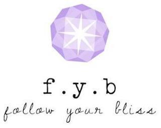 F.Y.B FOLLOW YOUR BLISS trademark