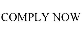 COMPLY NOW trademark